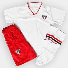 1a69f41b8ad Kit São Paulo Infantil I 17 18 Under Armour - Compre Agora