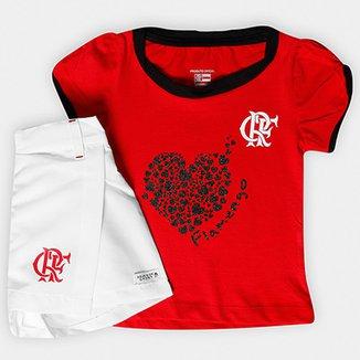 Compre Conjunto do Flamengo Adulto Linullnull Online  000dd4bc6683e