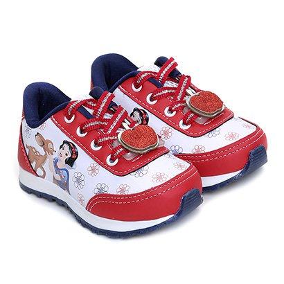 Tênis Infantil Disney Jogging Branca De Neve Feminino