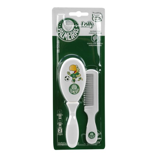 22f7d18f3f Kit Cabelo Palmeiras Loly Baby - Compre Agora