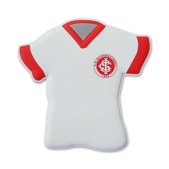 4dfe6cb43b3 Imã Camisa Internacional 3 - Vermelho+Branco