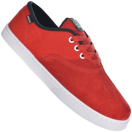 3aaea0d8d80 Tênis Hocks Sonora - Vermelho e Branco - Compre Agora