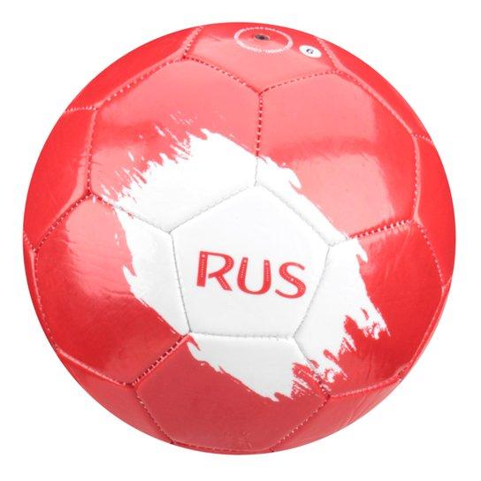 Bola Futebol Campo Rússia - Vermelho e Branco - Compre Agora  a65affc1515fe