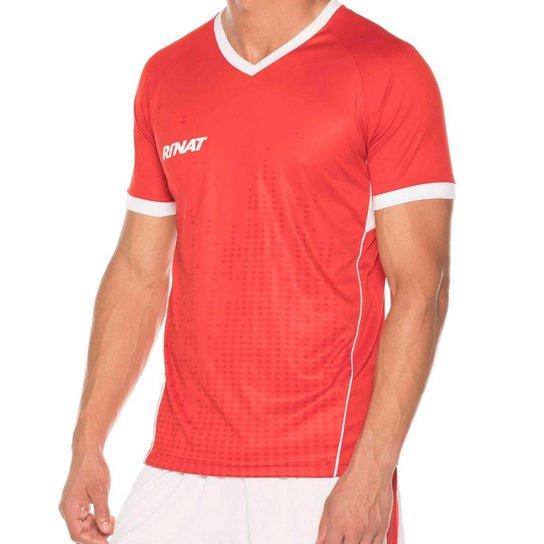 Camisa Rinat Corsair Masculina - Vermelho+Branco d54af9d8e94f0