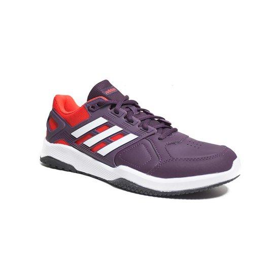 3a29bfcd7c40f Tênis Adidas Duramo 8 Trainer Masculino - Vermelho e Branco - Compre ...