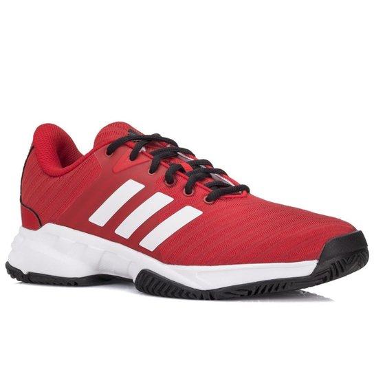 Tênis Adidas Barricade Court 3 Masculino - Vermelho+Branco 28e04c120ae97