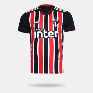 d5890ec0d Camisa São Paulo II 2018 s n° Torcedor Adidas Masculina