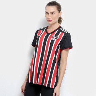 5e142436a4 Camisa São Paulo II 2018 s n° Torcedor Adidas Feminina