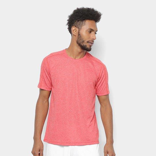 705470a2aea Camiseta Adidas Design 2 Move 3 Stripes Masculina - Vermelho+Branco