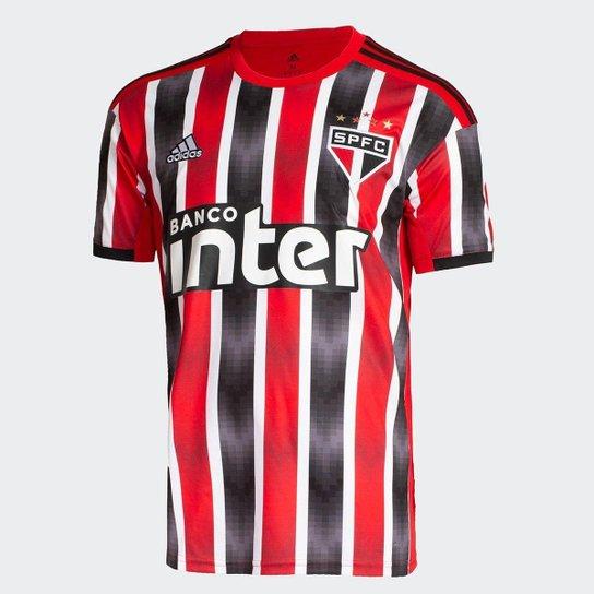 63eec61fe11 Camisa São Paulo II 19 20 s nº Torcedor Adidas Masculina - Vermelho ...