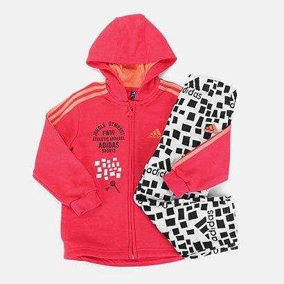 Conjunto Agasalho Infantil Adidas Sports