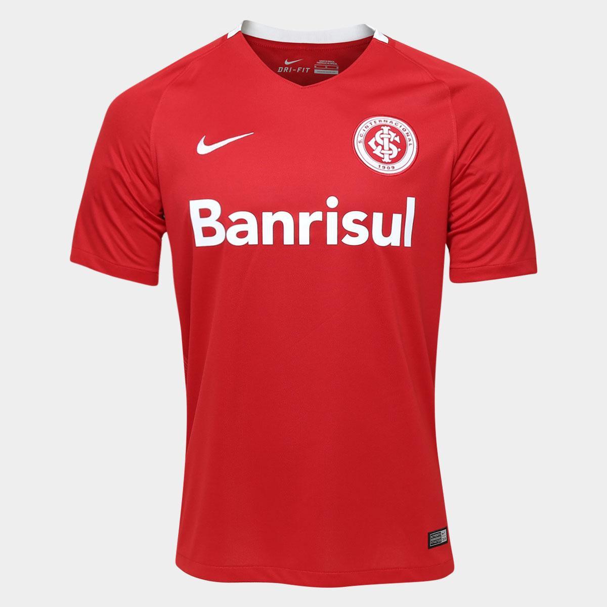 c5d90413c Camisa Internacional I 2016 s nº Torcedor Nike Masculina