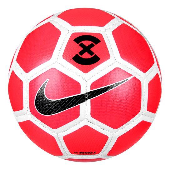 Bola Futsal Nike FootballX Menor - Vermelho e Branco - Compre Agora ... 794501d50aeff