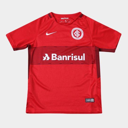4c5b1c8f3 Camisa Internacional Juvenil I 17 18 s n° Torcedor Nike - Compre ...