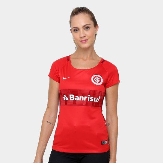d55aa2c0d Camisa Nike Internacional Home - 17/18 s/nº - Torcedor - Feminina ...