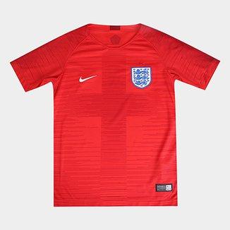 4b5ddc98f8 Camisa Seleção Inglaterra Juvenil Away 2018 s n° Torcedor Nike