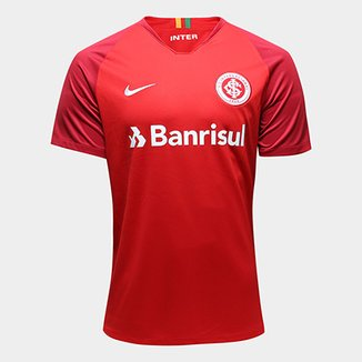 Camisa Internacional I 18 19 Torcedor Nike Masculina 13adbb7d0dc12