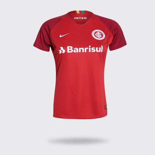 Camisa Internacional I 18 19 s n° Torcedor Nike Feminina - Compre ... 330e7d03ac0c5