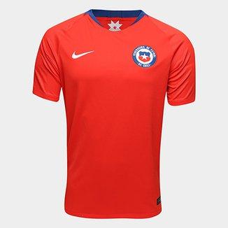 5fd95ac0c9 Camisa Seleção Chile Home 2018 s n° Torcedor Nike Masculina