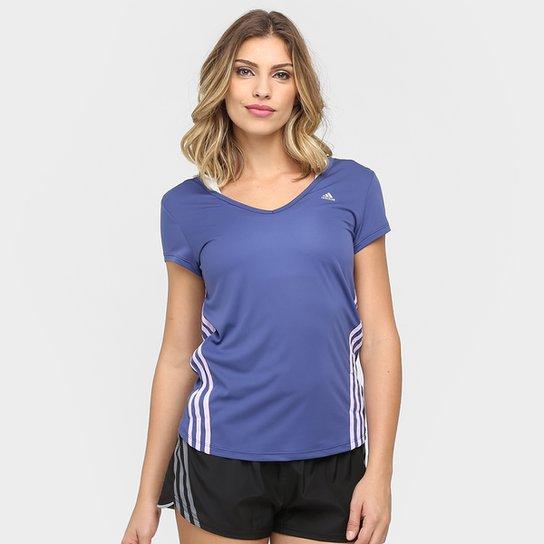 Camiseta Adidas ESS Clima 3S LW Feminina - Roxo - Compre Agora ... fb595a4f9ef7d