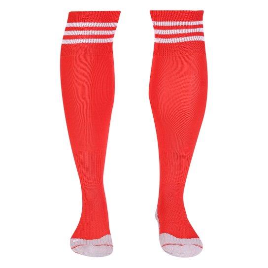 Meião Flamengo Adidas - Vermelho+Branco ebdb1cc2f7b74