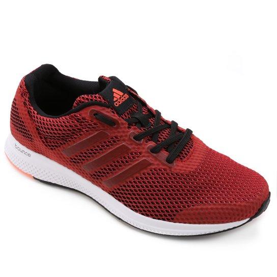 8571a587995e3 Tênis Adidas Mana Bounce Masculino - Vermelho e Branco - Compre ...