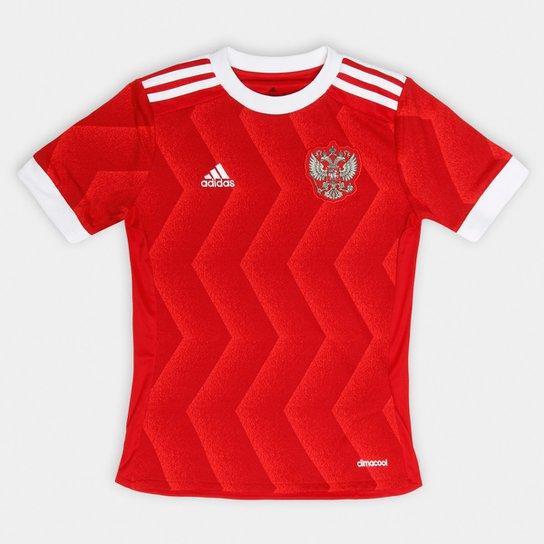 Camisa Seleção Rússia Infantil Home 2017 s nº Adidas - Compre Agora ... 4043415e2874e