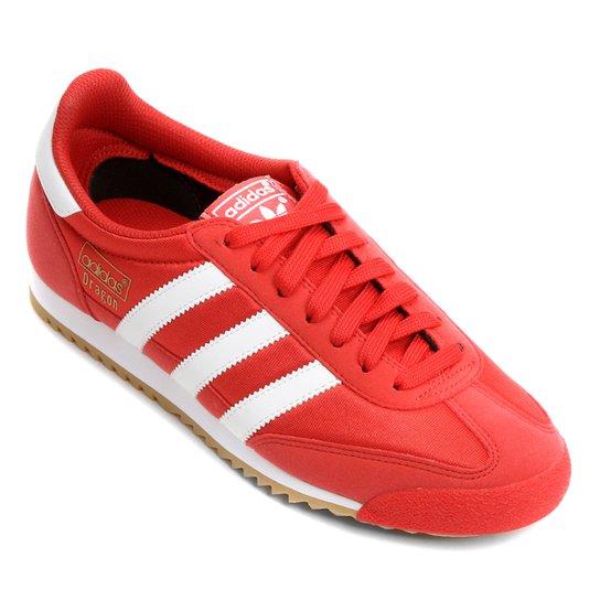 4f73a09503 Tênis Adidas Dragon Og - Vermelho+Branco