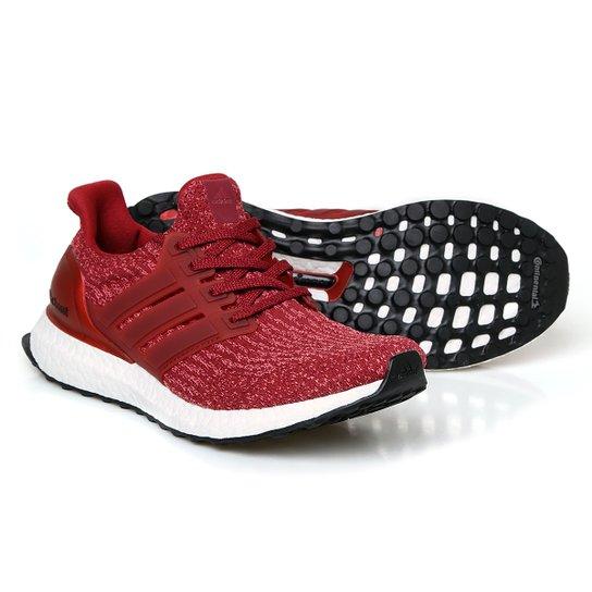 Tênis Adidas Ultra Boost Feminino - Vermelho+Branco 151c00b22837e