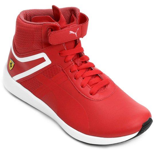 ce3379da81f Tênis Puma Scuderia Ferrari F116 Boot - Vermelho+Branco