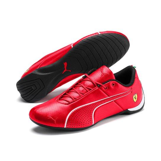 5e0e065afcb Tênis Couro Puma Scuderia Ferrari Future Cat Ultra - Vermelho+Branco