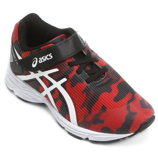 Tênis Infantil Asics Pre-Bounder 2 Ps - Vermelho e Preto - Compre ... 772d224d45973