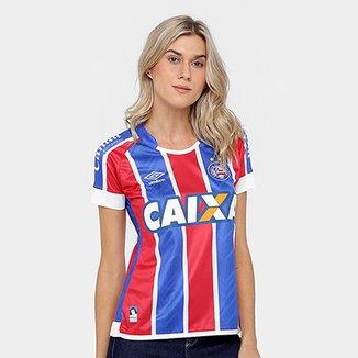 bb5dc78e64a5b Camisa Bahia II 17 18 nº 10 - Torcedor Umbro Feminina