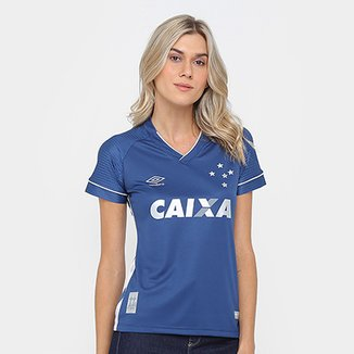 Camisa Cruzeiro III 17 18 s n° - Torcedor Umbro Feminina 85a67a06ef32e