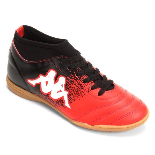 Chuteira Futsal Kappa Agility - Vermelho e Branco - Compre Agora ... f6139b6906d4b