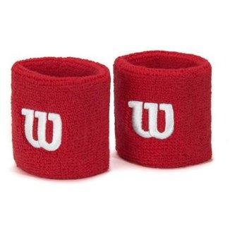 3120a3f435022 Munhequeira Wilson Curta Vermelha com 02 Unidades