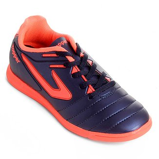 97a8ce34f2 Chuteira Futsal Infantil Topper Boleiro