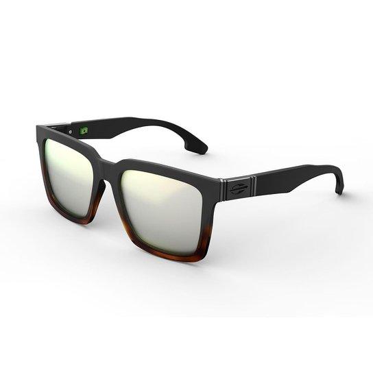 7a13f1dead6a0 Oculos Sol Mormaii Sacramento - Preto e Marrom - Compre Agora