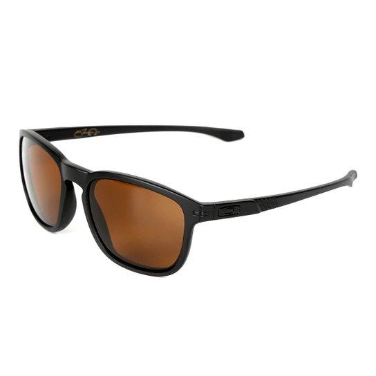 7efd5e905 Óculos Oakley Enduro Masculino - Preto+Marrom