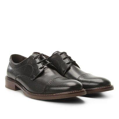 Sapato Casual Couro Democrata Metropolitan Masculino