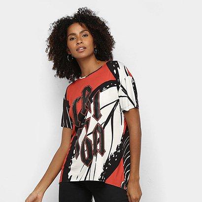 Camiseta Triton Full Print Feminina