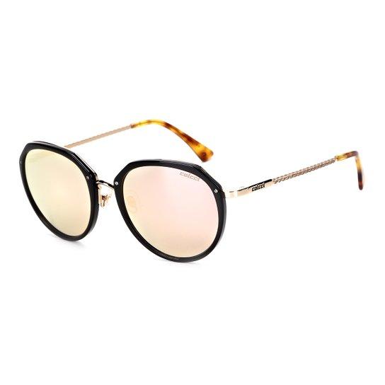 b317558da Óculos de Sol Colcci C0111 Feminino - Preto e Marrom   Netshoes