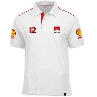 Camisa Polo Fórmula Retrô McLaren Ano 1988 7323fc039935f