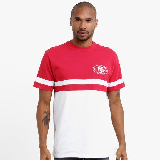1dce19f1c8 Camiseta New Era NFL San Francisco 49ers - Vermelho+Branco