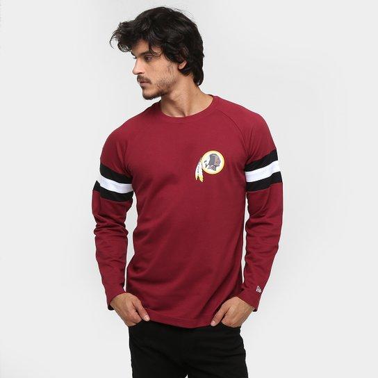 999f824de2 Camiseta New Era NFL Hock Washington Redskins M L - Vermelho Escuro+Branco