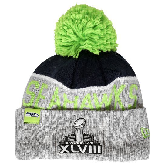 Gorro New Era NFL Sport Knit 15 Seattle Seahawks - Compre Agora ... 906834a691e