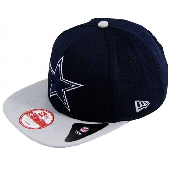 20c4f91ee8ccc Boné Dallas Cowboys Team Recess 950 Snapback - New Era - Marinho+Cinza