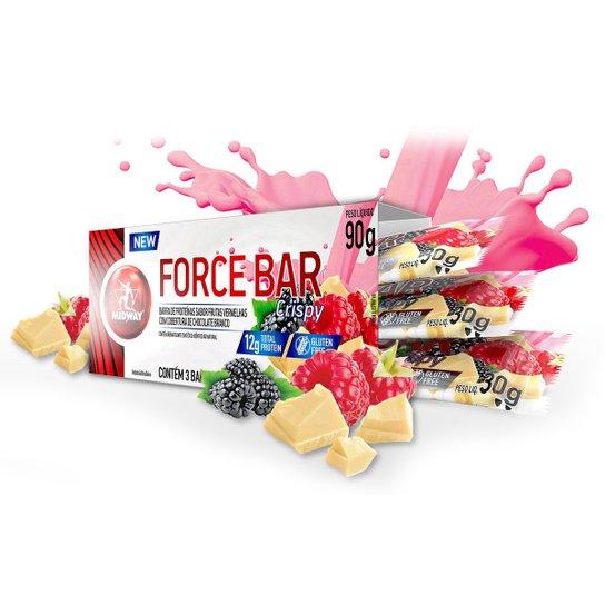 ab814d5da Barra de Proteína Force Bar Crisp - Midway 3 Unidades - Compre Agora ...