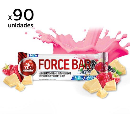 f4b982bc1 Kit Barra de Proteína Force Bar Crisp Midway 90 Unidades - Compre ...