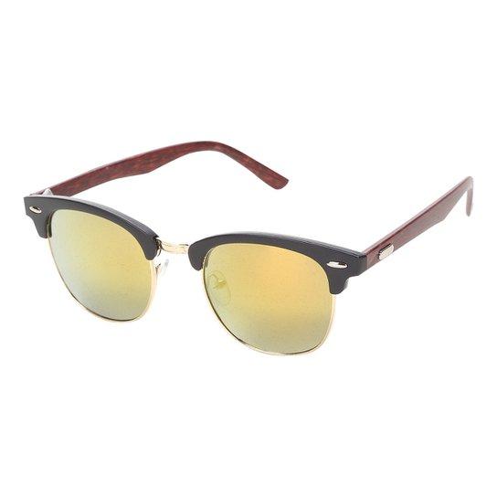 1fbd7c8833b63 Óculos De Sol King One Redondo 9909 Feminino - Compre Agora